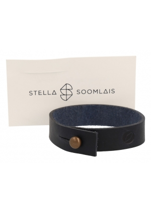 Maritime Academy leather wristband