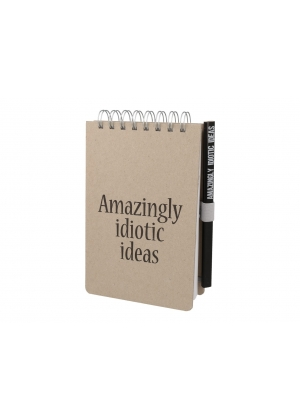 Notebook - Amazingly idiotic ideas