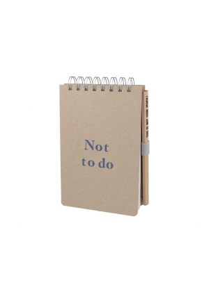 Notebook - Not to do